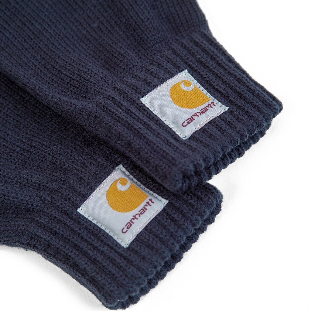 Carhartt Watch Gloves in Navy - Labelling