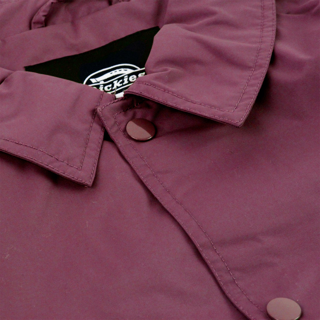 Dickies Torrance Jacket in Maroon - Collar