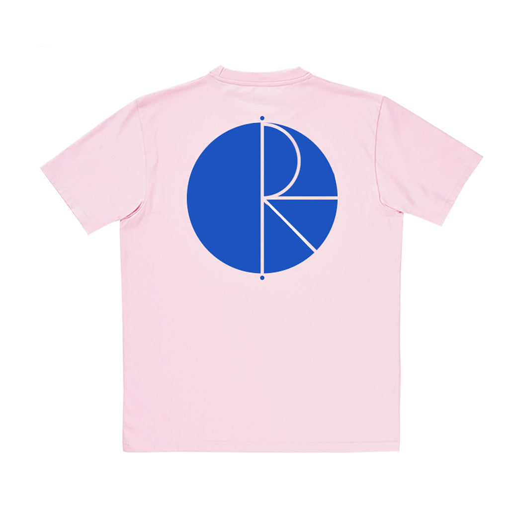 Polar Skate Co Fill Logo T Shirt in Pastel Pink