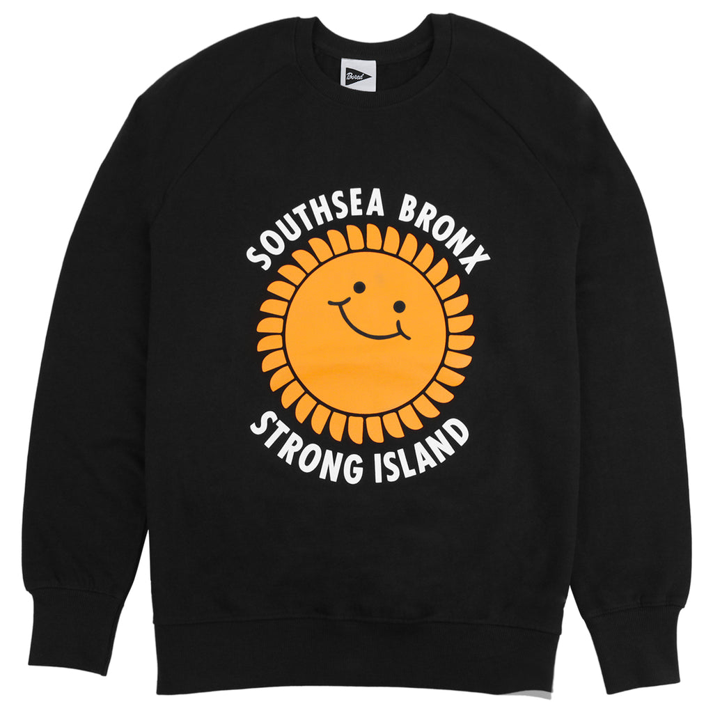 Southsea Bronx Strong Island Sweatshirt in Black