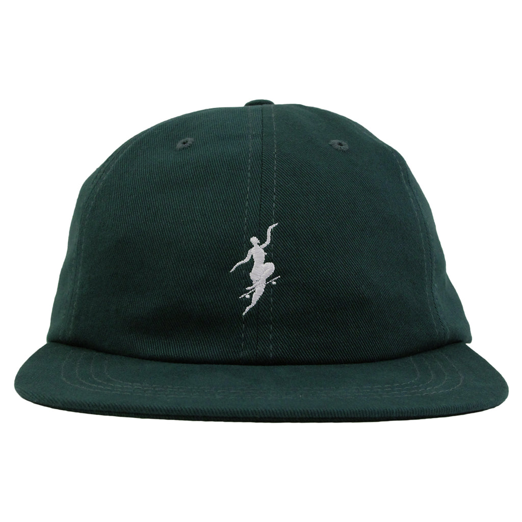 Polar Skate Co No Comply Cap in Botanical Green - Front