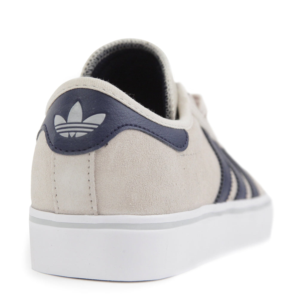 Adidas Skateboarding Adi Ease Premiere ADV Shoes in Clear Brown / Collegiate Navy / Footwear White - Heel