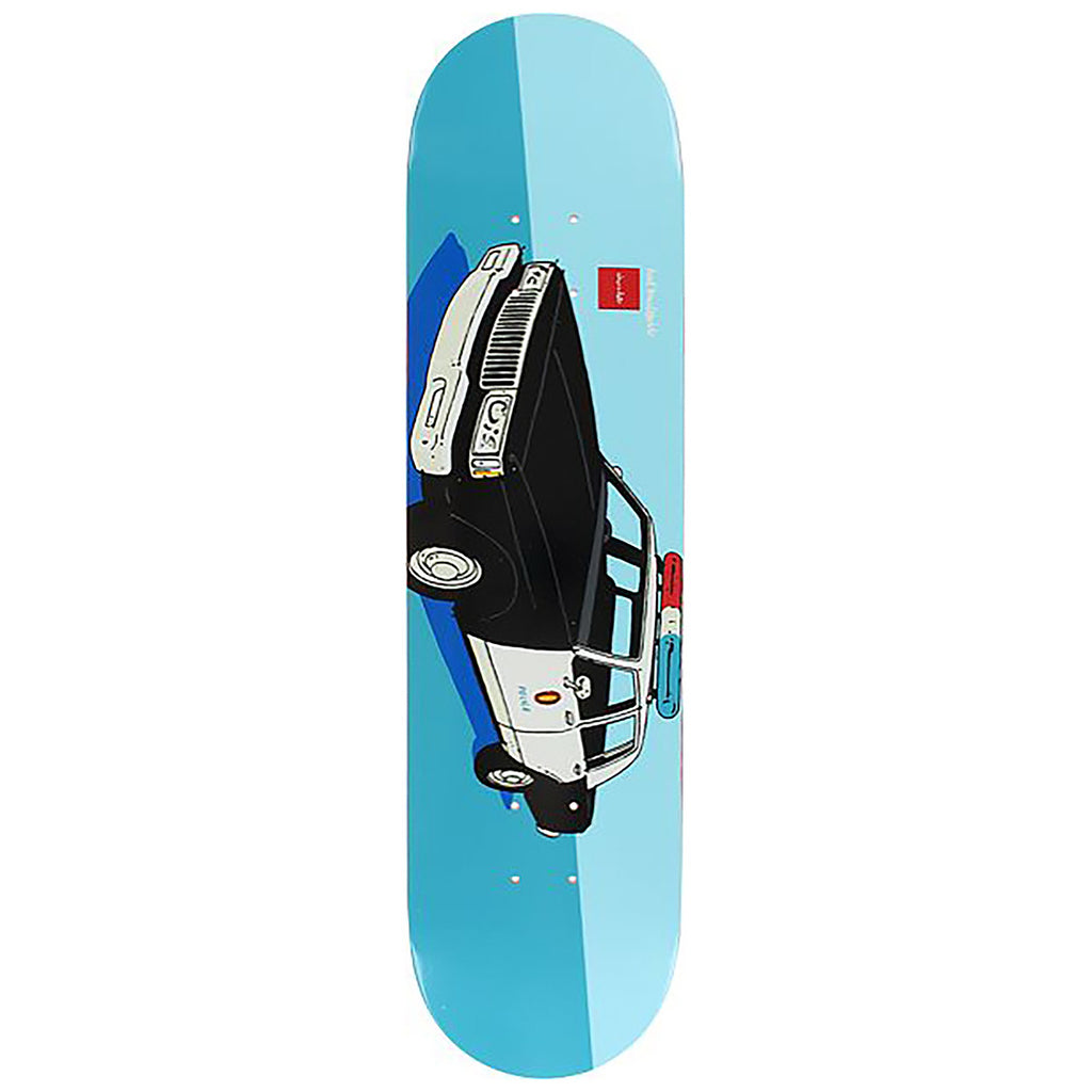 Chocolate Skateboards x HUF LA Cop Car Skateboard Deck in 8""
