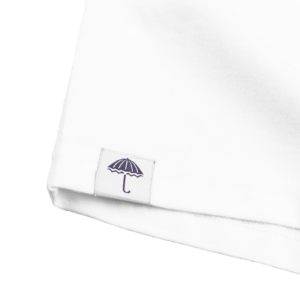 Helas Parasol De Mayo T Shirt in White / Blue / Navy - Label