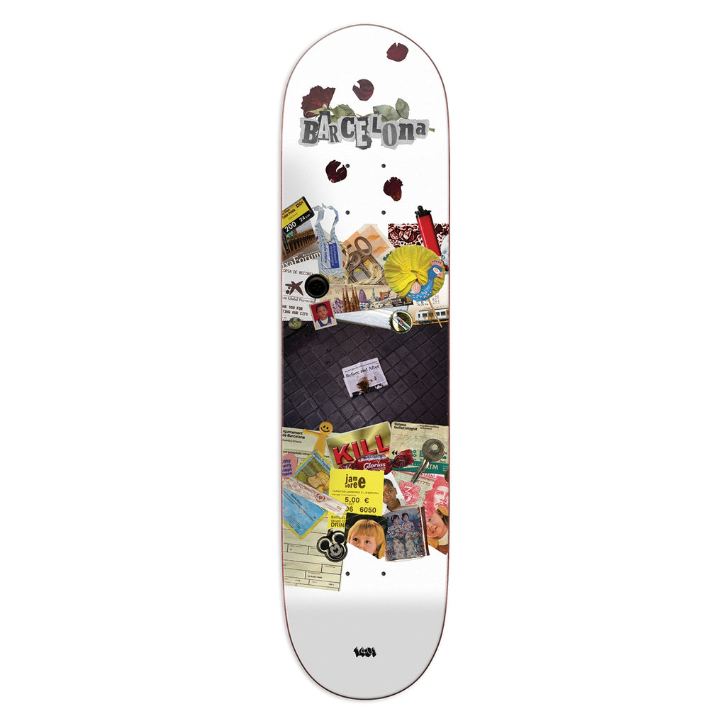 14:01 Skateboard Co Lost and Found Skateboard Deck