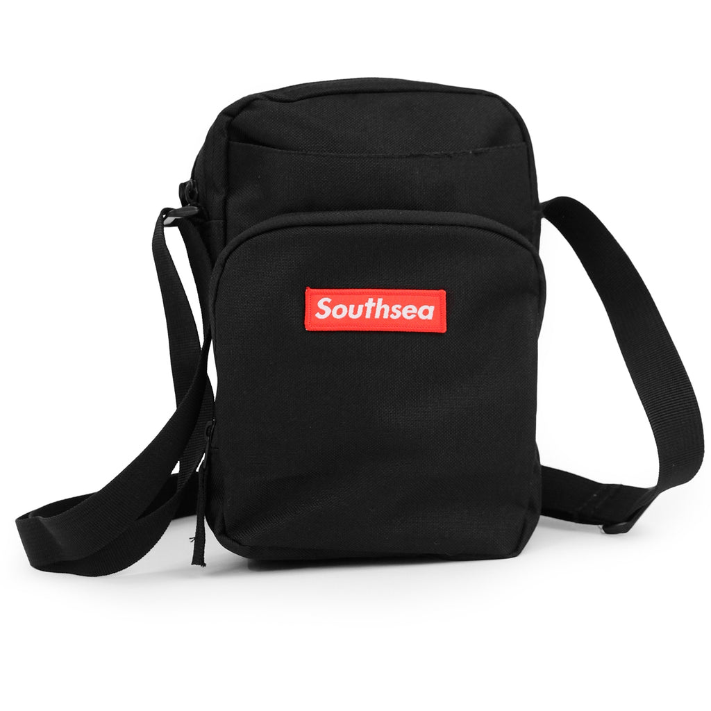 "Bored of Southsea ""Southsea"" Essential Bag in Black"