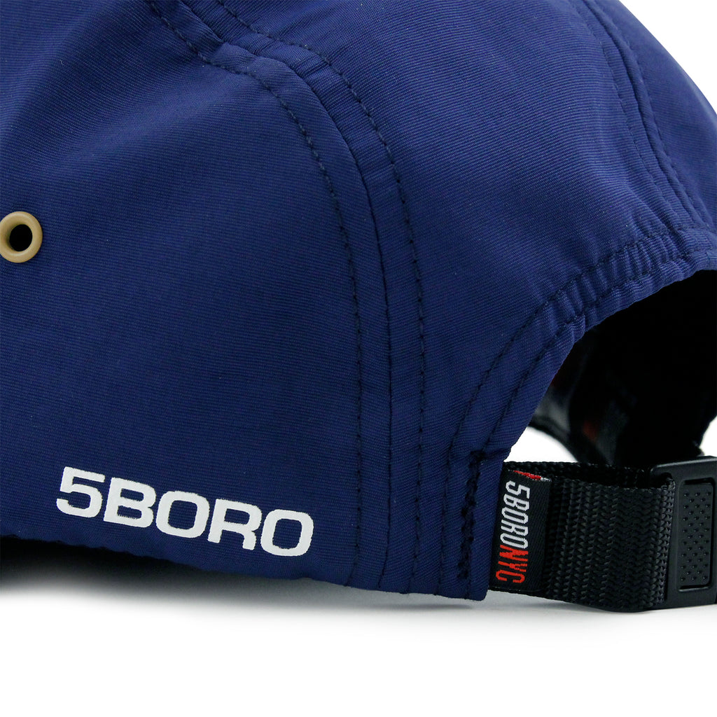 5Boro 5B VHS 5 Panel Camp Cap in Navy - Back