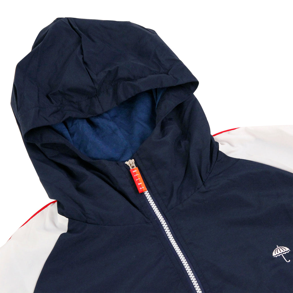 Helas Olympic Squad Tracksuit Jacket in Navy - Detail