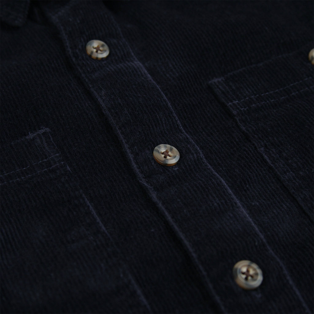 Dickies Arthurdale Shirt in Dark Navy - Buttons