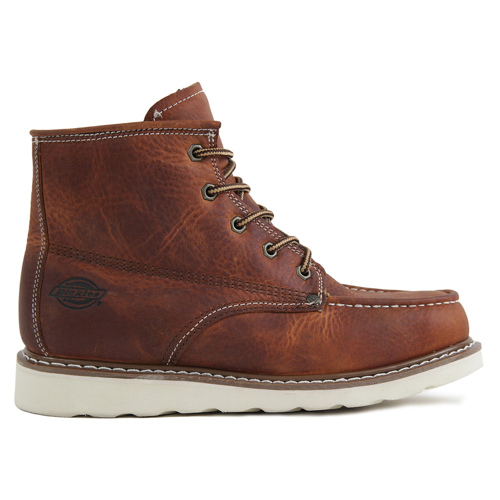 Dickies Illinois Boots in Dark Brown