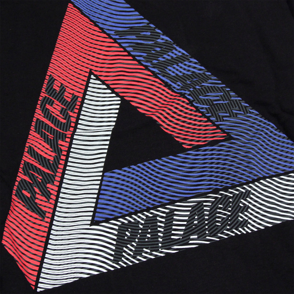 Palace Drury Brit Hood in Black - Print