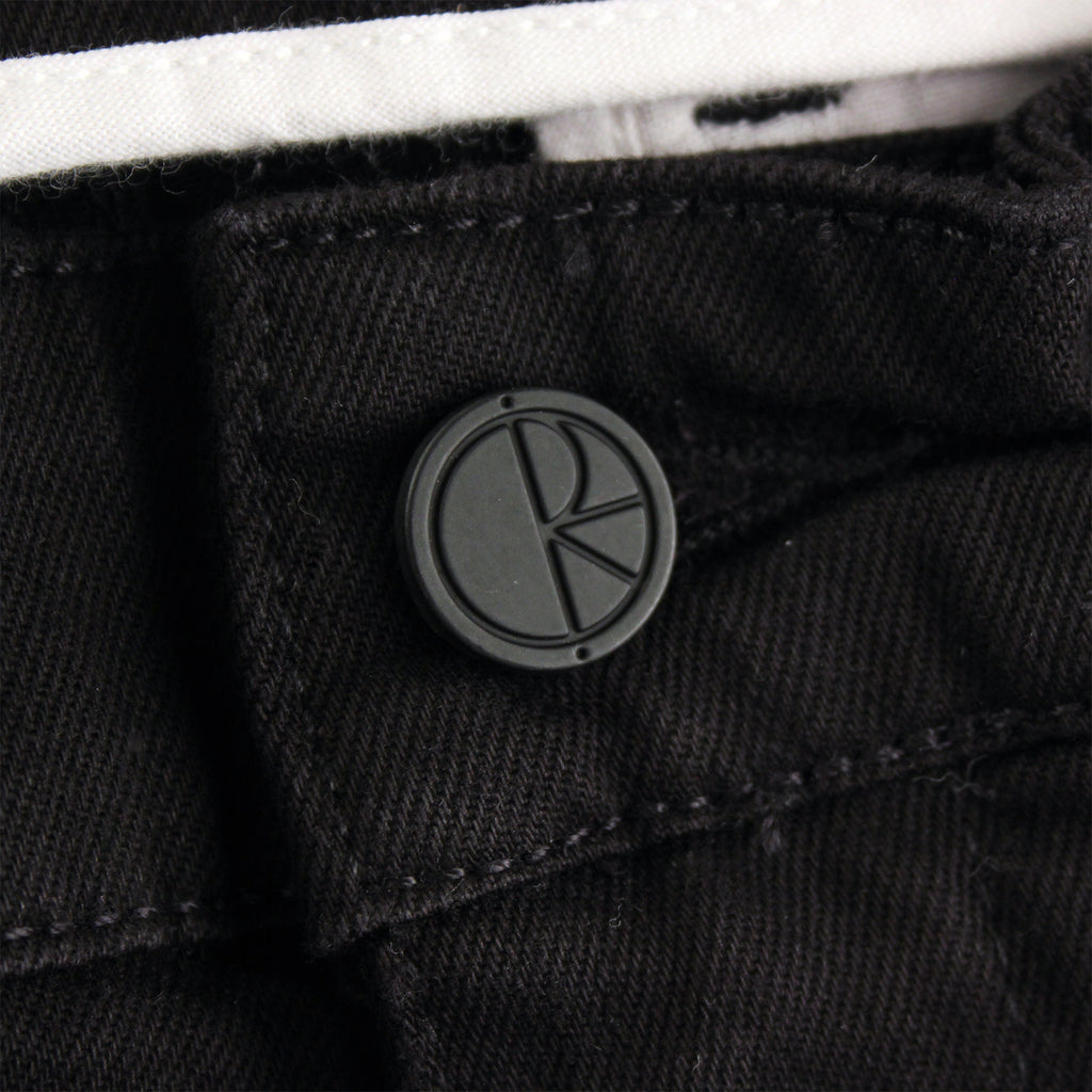 Polar Skate Co Default Chino in Black - Button