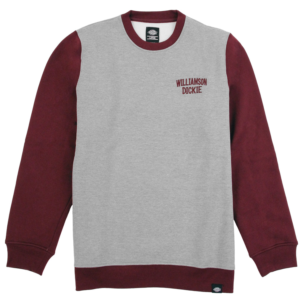 Dickies Port Edwards Crew Sweatshirt in Maroon