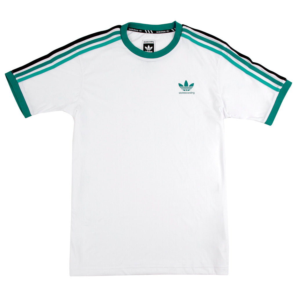 Adidas Skateboarding Clima Club Jersey in White