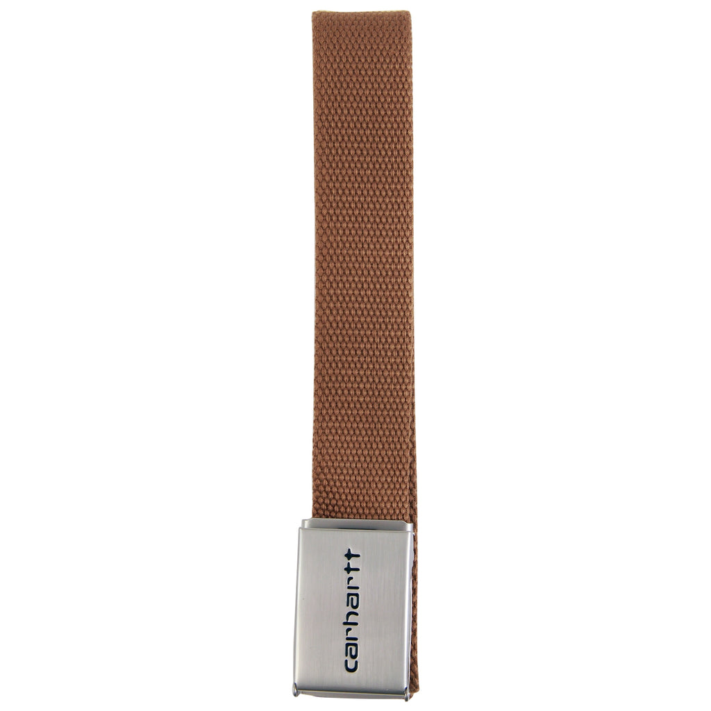 Carhartt Clip Belt Chrome in Hamilton Brown - Detail 2