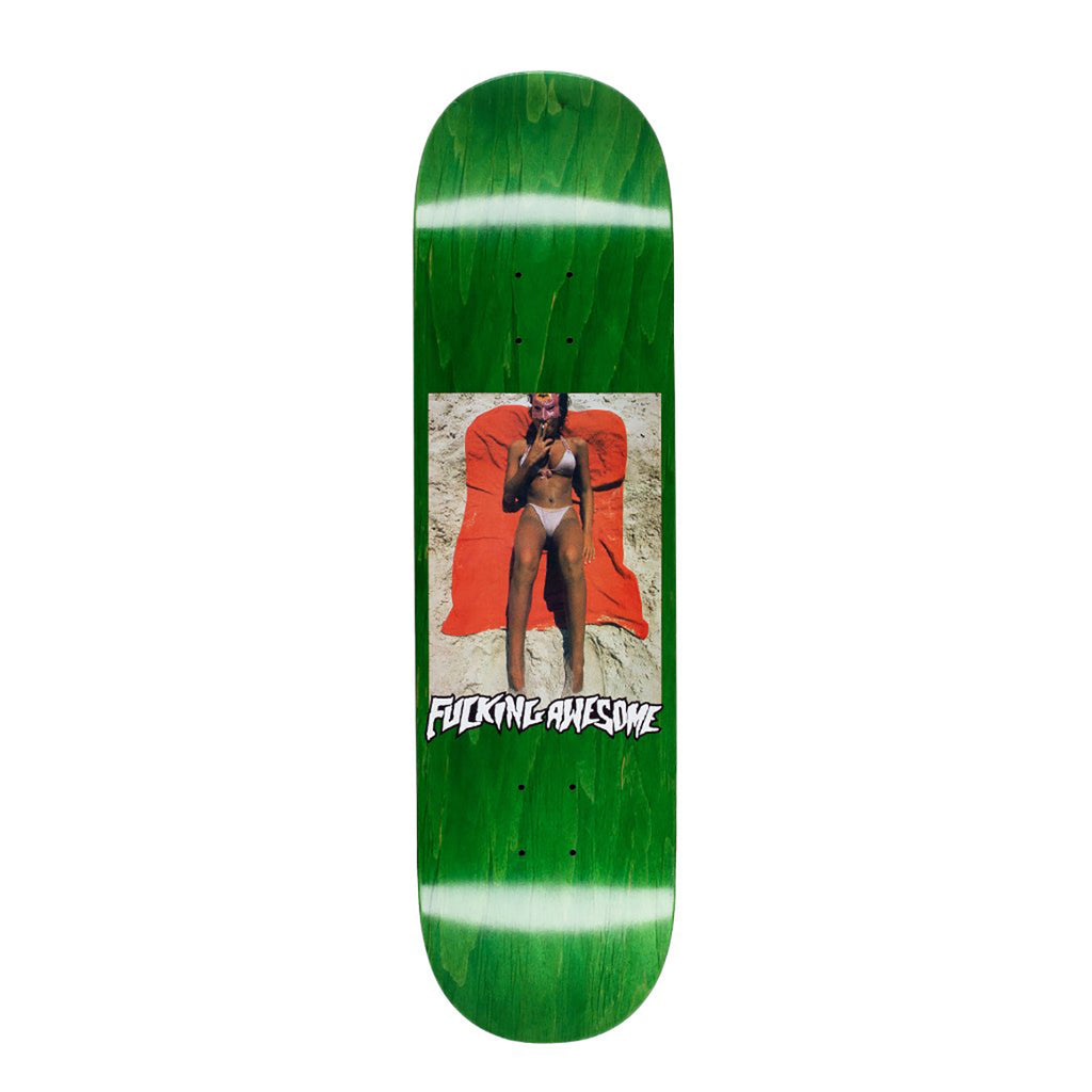 Fucking Awesome Beach Skateboard Deck in 8.38""