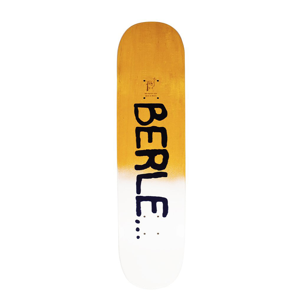 "Fucking Awesome Brothers Slick Skateboard Deck in 8.25"" - Top"