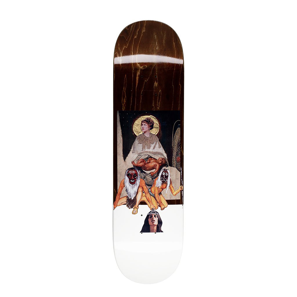 "Chloe 2 Skateboard Deck in 8.38"" by Fucking Awesome - Brown"