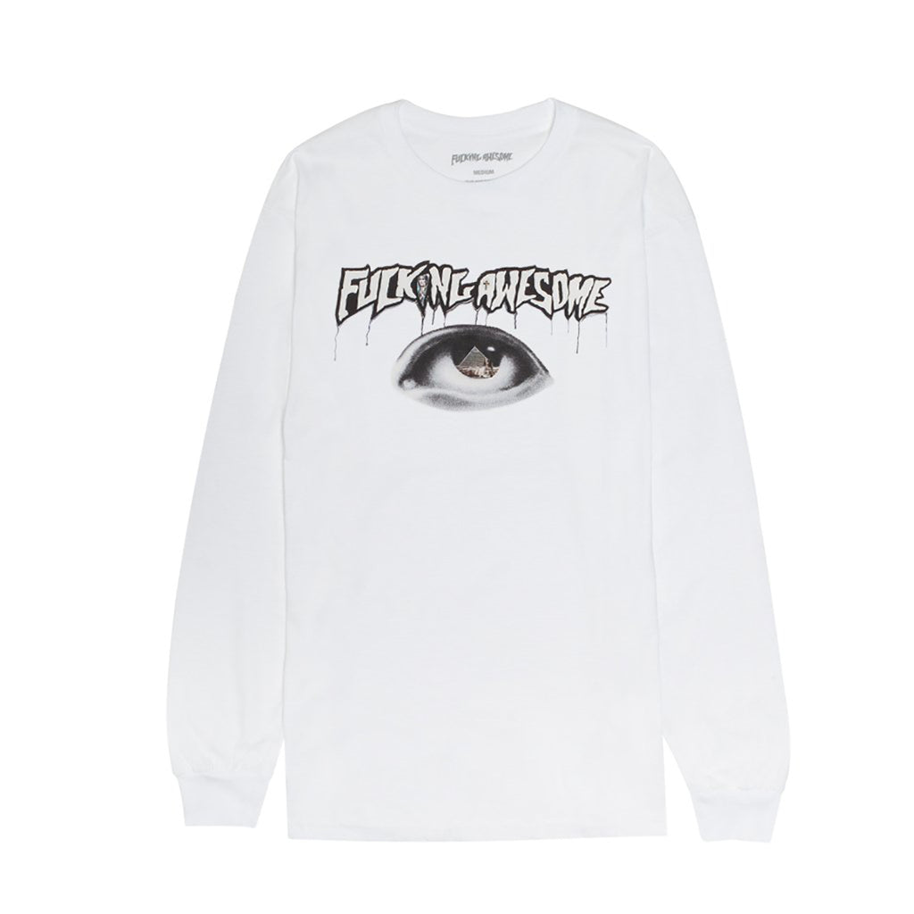 Fucking Awesome Egypt L/S T Shirt in White