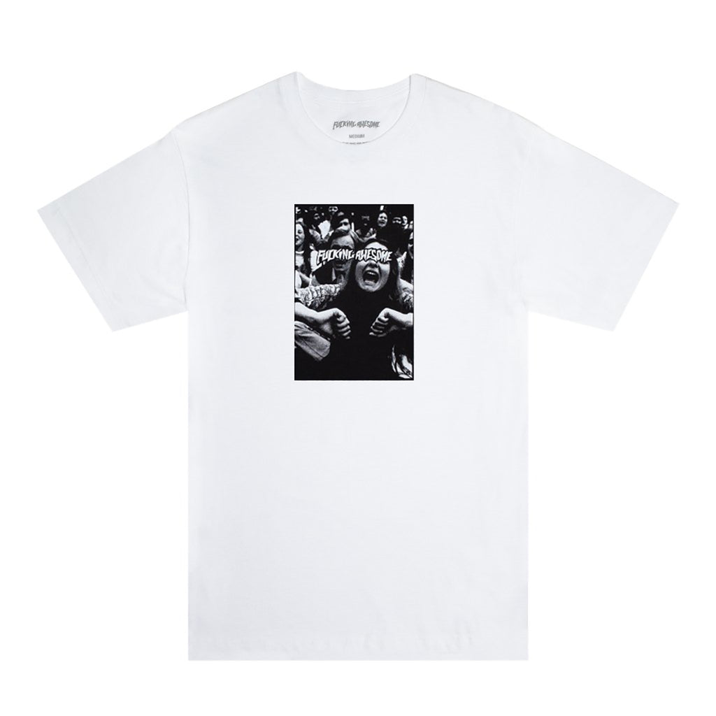 Fucking Awesome Scream T Shirt in White