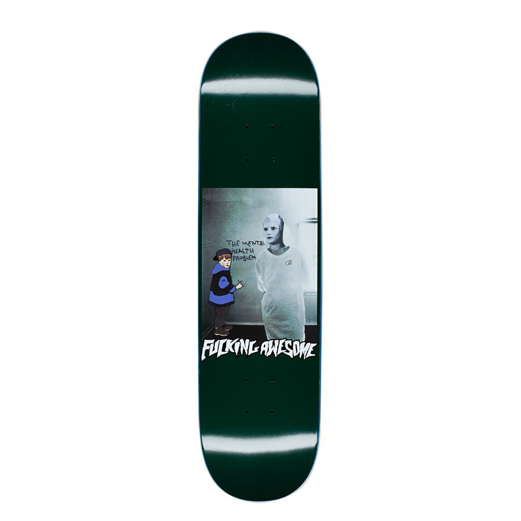 Fucking Awesome Mental Health Skateboard Deck in 8""