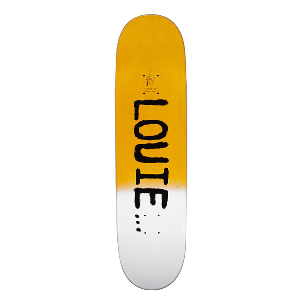 "Fucking Awesome Louie Lopez Collage Skateboard Deck in 8.25"" - Top"