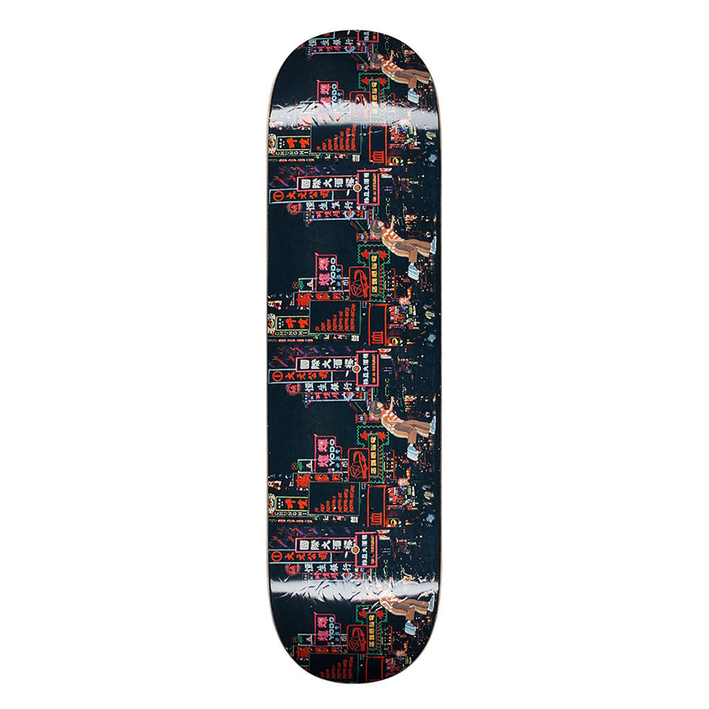 Fucking Awesome Neon Nights Skateboard Deck in 8.25""