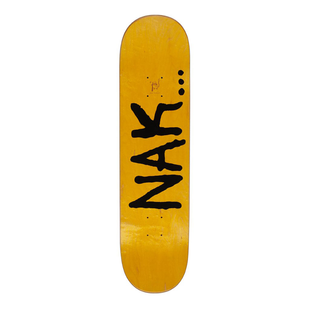 "Fucking Awesome Nak Hands Skateboard Deck in 8.18"" - Top"