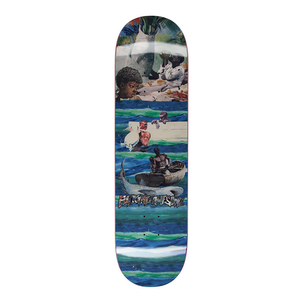 Fucking Awesome Sage Ocean Skateboard Deck in 8.38""