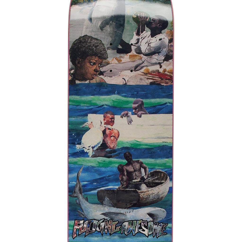 "Fucking Awesome Sage Ocean Skateboard Deck in 8.38"" - Print"