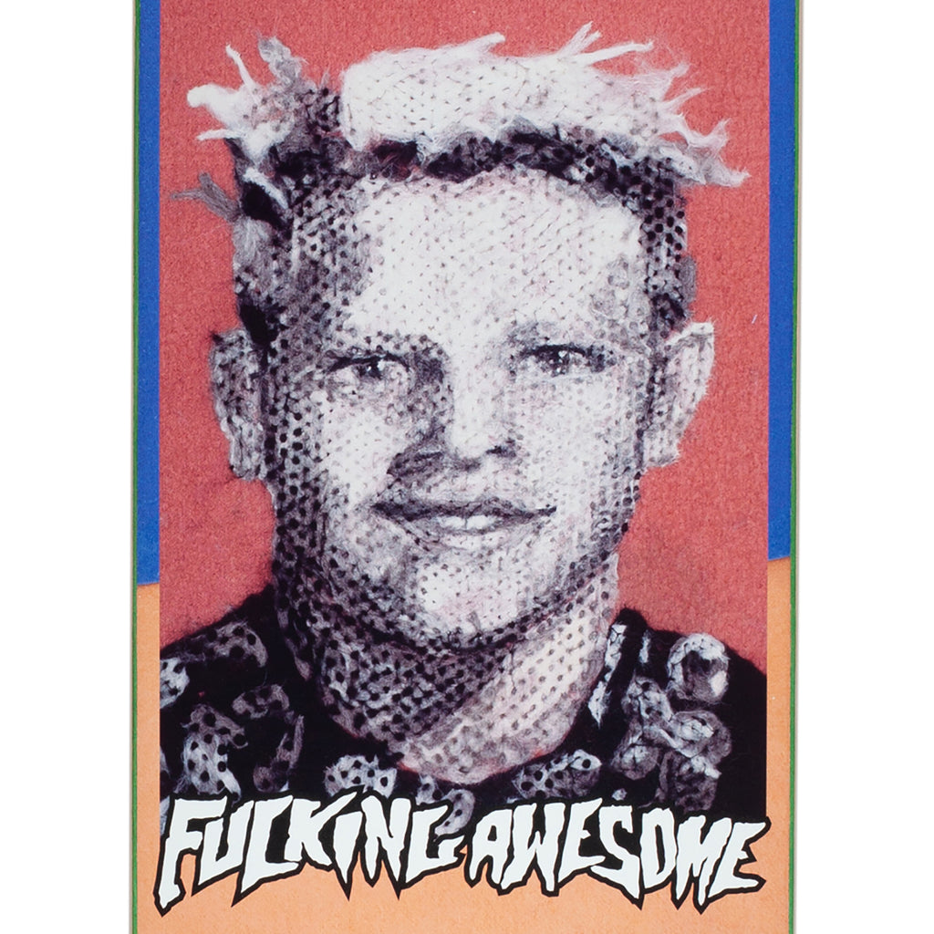 "Fucking Awesome Ave Felt Class Photo Skateboard Deck in 8.25"" - Print"
