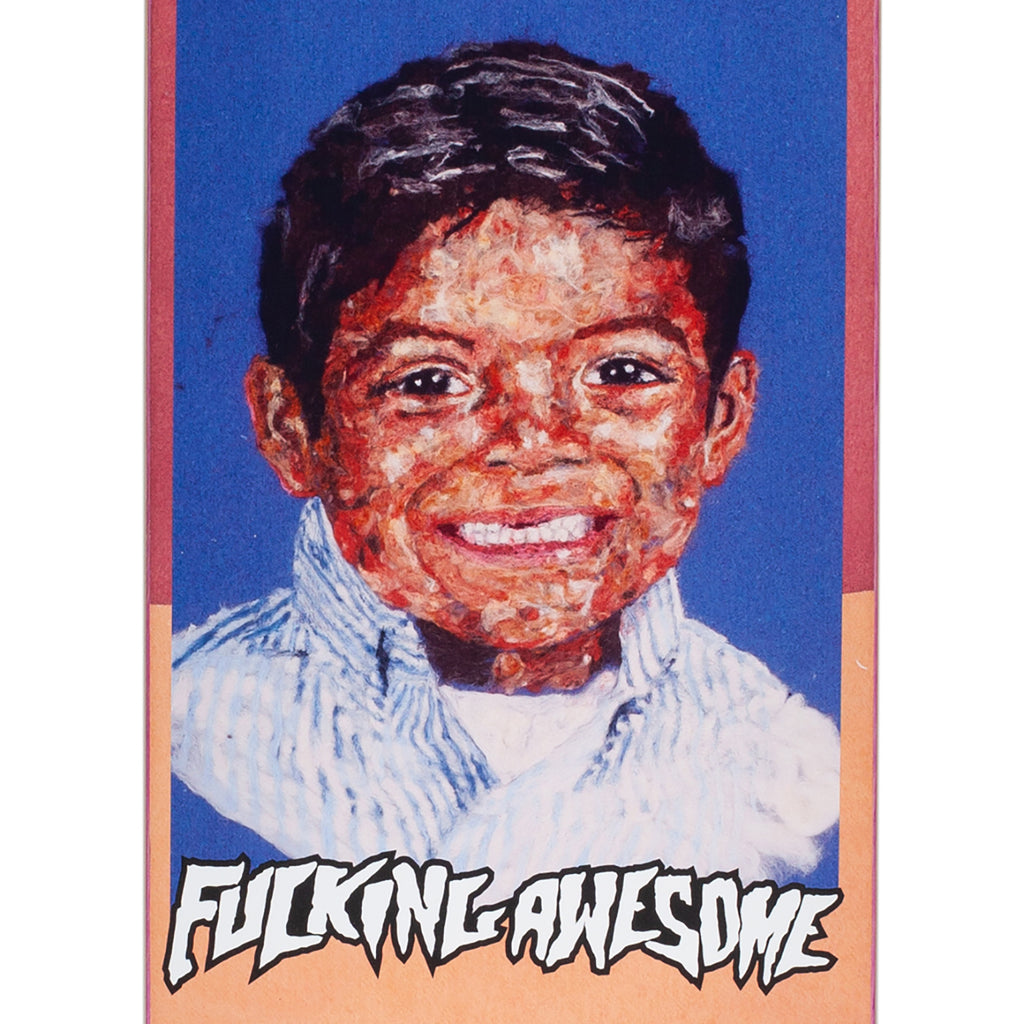"Fucking Awesome Louie Felt Class Photo Skateboard Deck in 8.25"" - Detail"