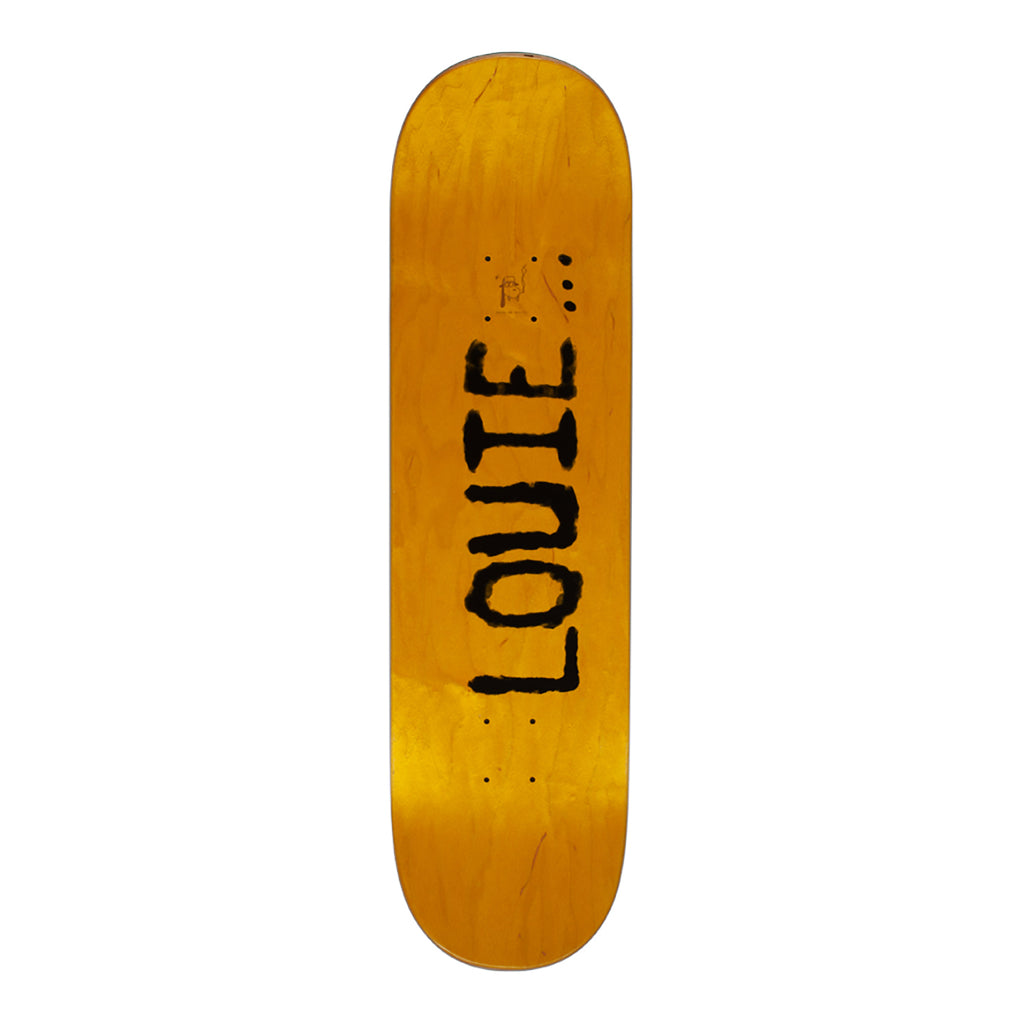 "Fucking Awesome Louie Felt Class Photo Skateboard Deck in 8.25"" - Top"