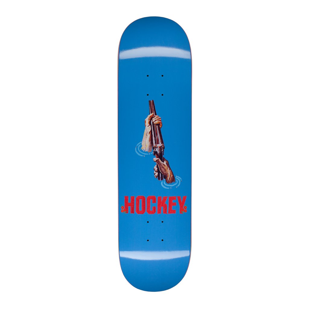 "Hockey Skateboards Shotgun Skateboard Deck in 8.25"" - Bottom"