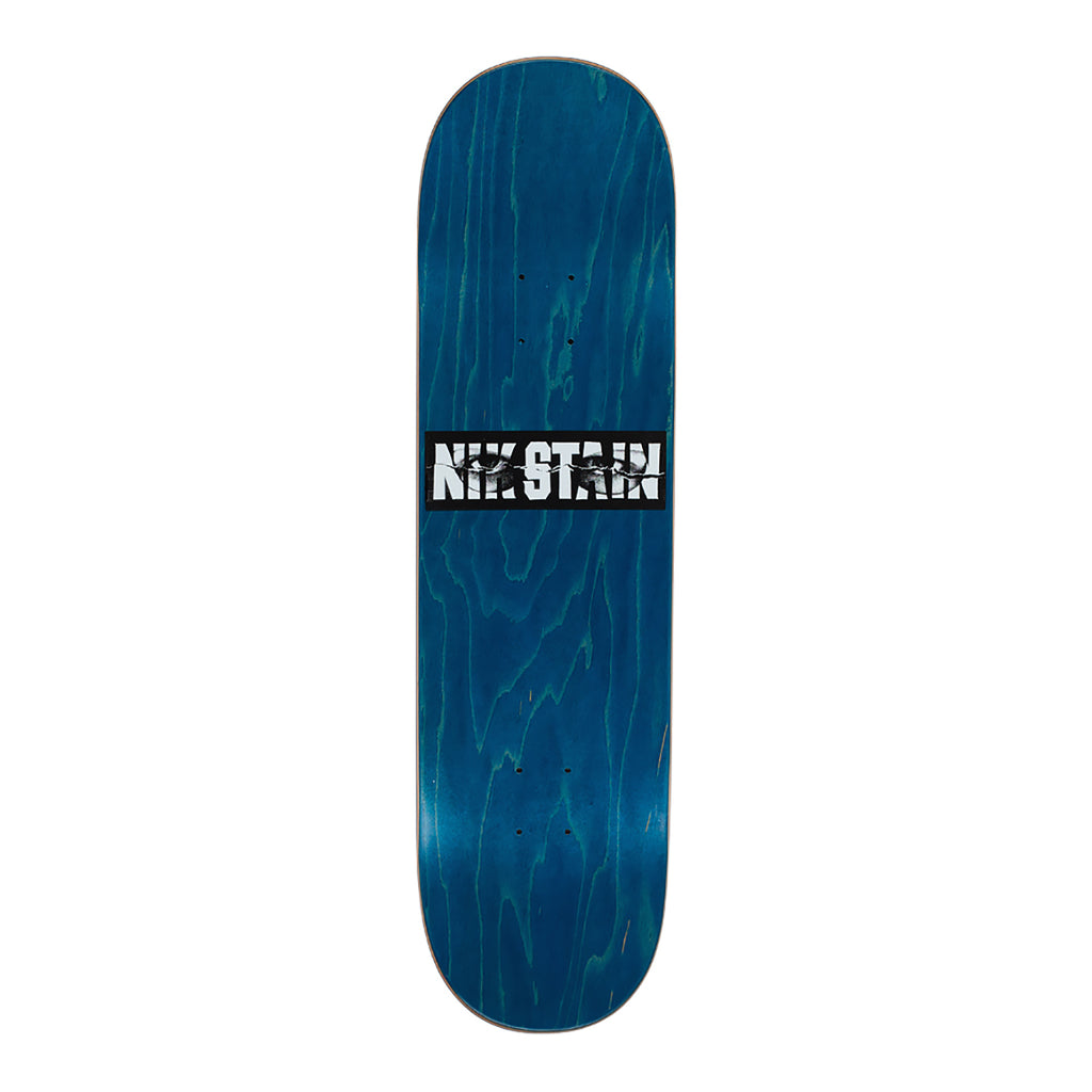 "Hockey Skateboards Nik Stain Skateboard Deck in 8.5"" - Top"