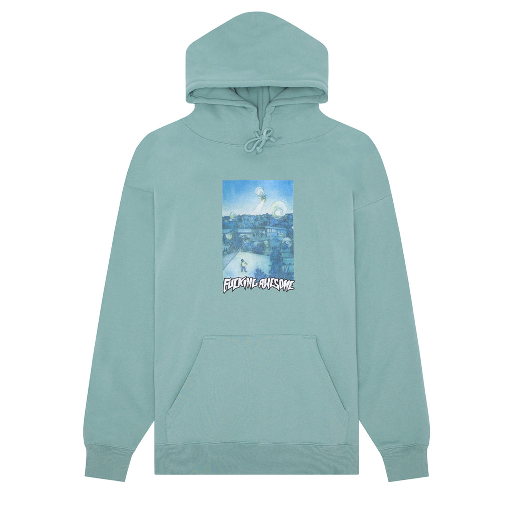 Fucking Awesome Helicopter Hoodie in Teal