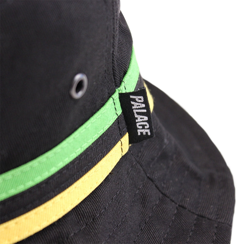 Palace Bucket Hat in Black - Detail
