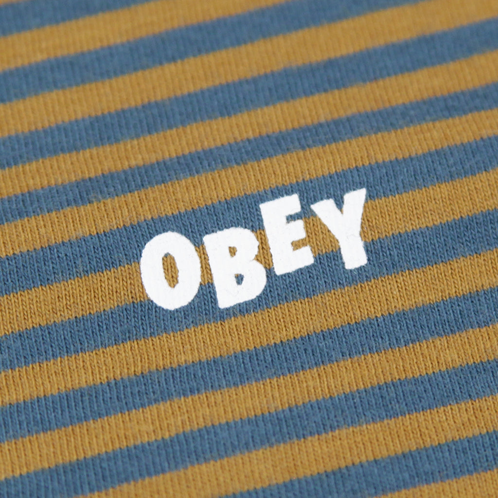 Obey Clothing Apex T Shirt in Tapenade Multi - Print