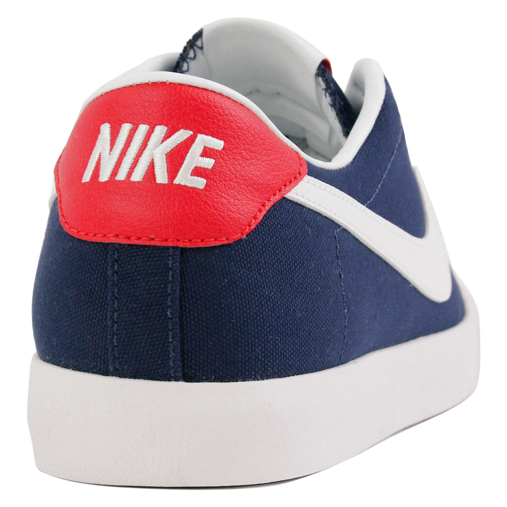 Nike SB Cory Kennedy Shoes in Midnight Navy / Summit White - Heel