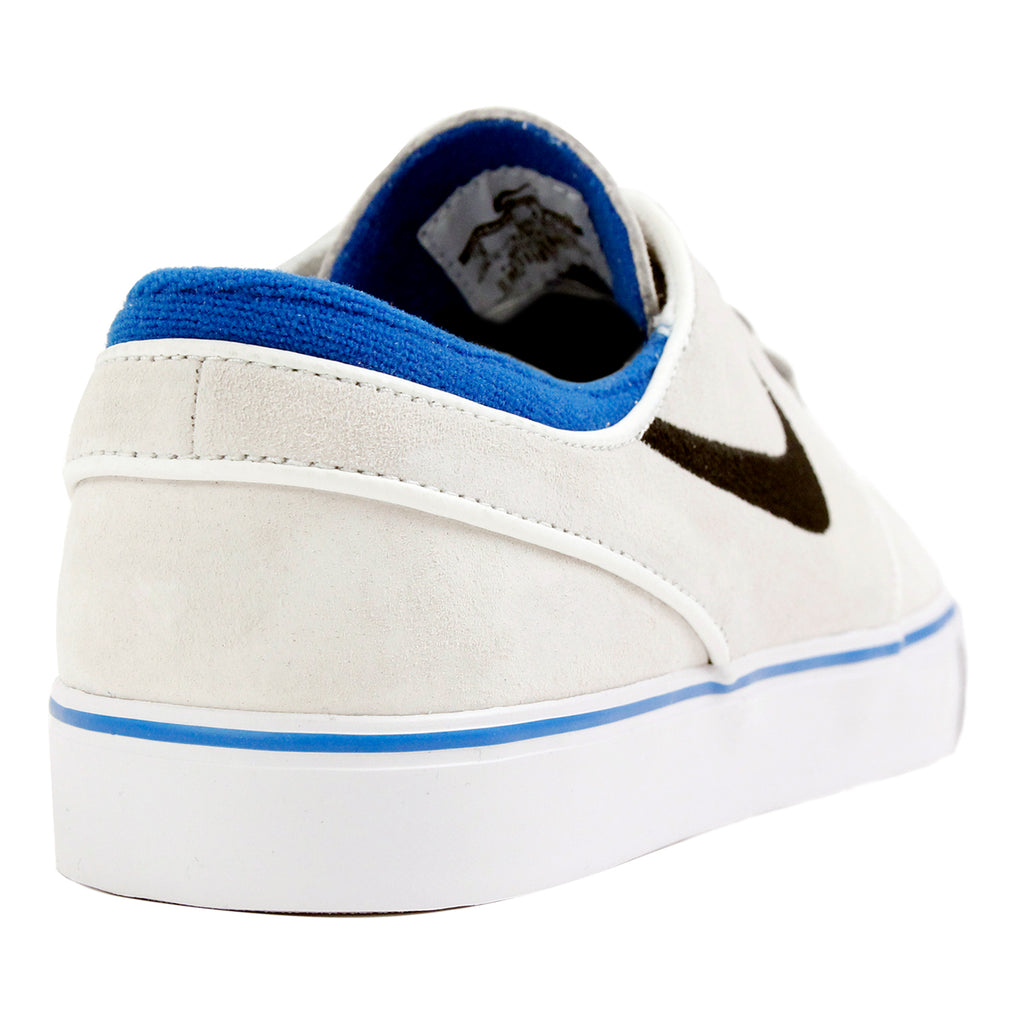 Nike SB Stefan Janoski Shoes QS - Summit White / Black - Lucid Green - Heel