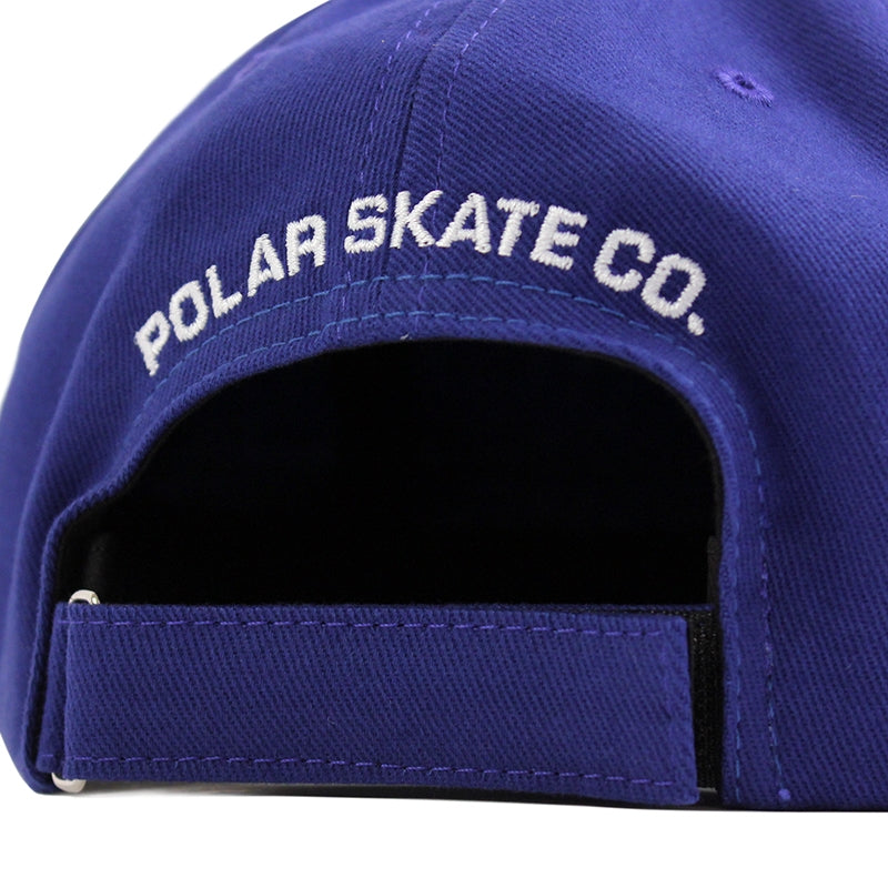 Polar Skate Co No Comply Cap in Royal Blue - Back