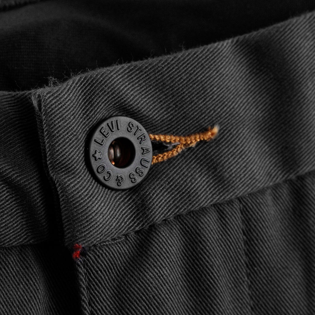 Levis Skateboarding Work Pant in Graphite - Button
