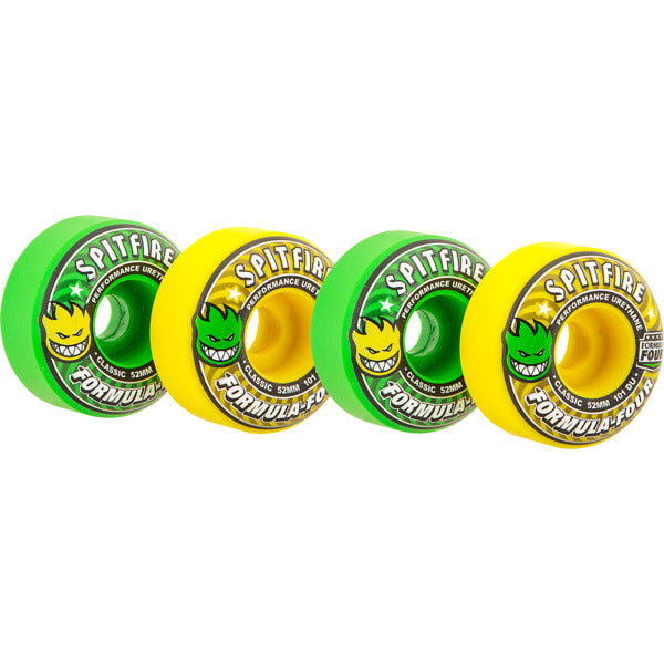 Spitfire Wheels Formula Four Coolaid Mash Up Wheels in Classic Coolade Mash