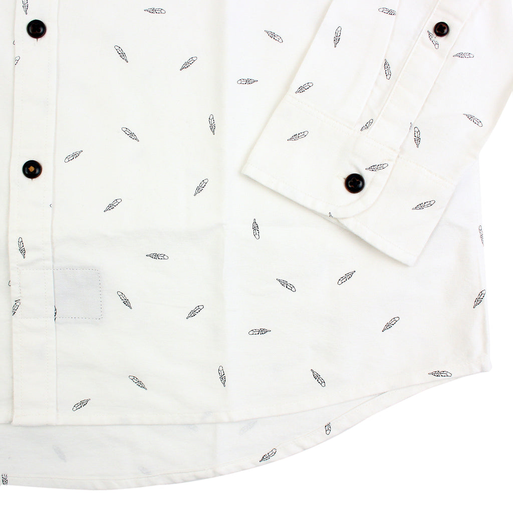 Levi's Skateboarding Collection Reform Shirt in Print White - Sleeve