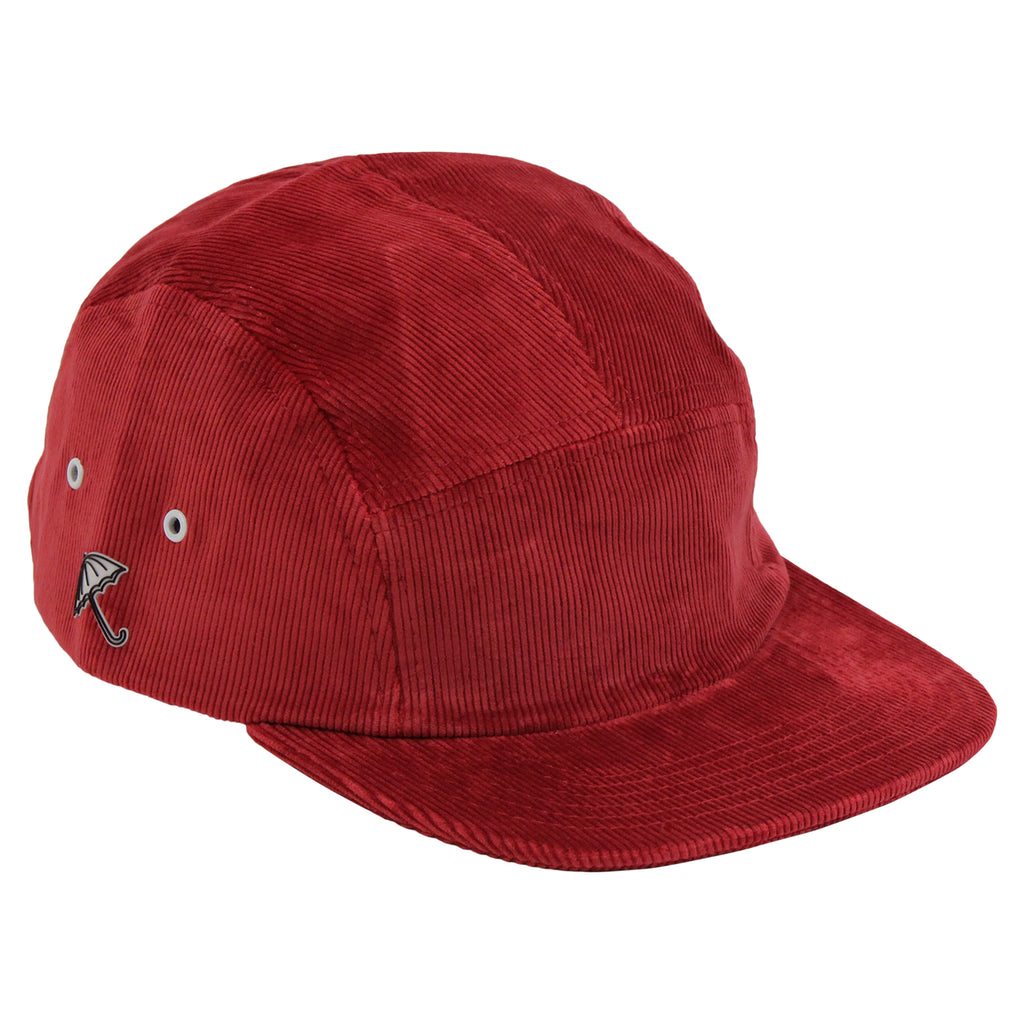 Helas Sunday 5 Panel Cap in Burgundy