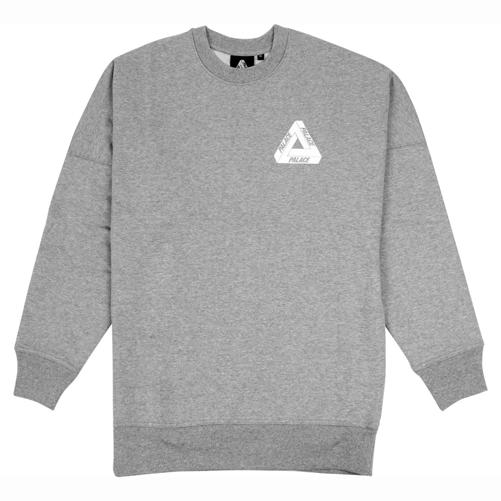 Palace Performance Crew in Grey - Front