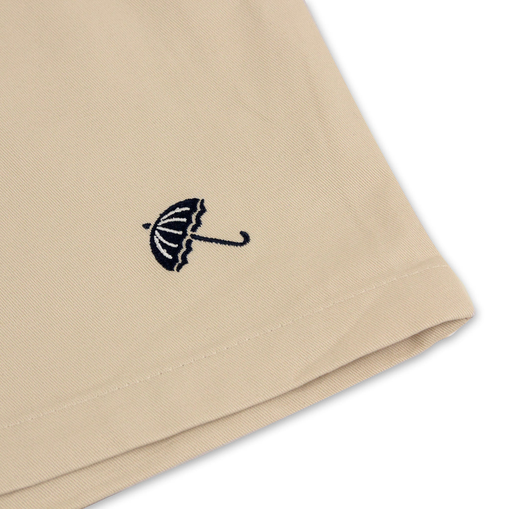 Helas Classic Chino Short in Beige - Embroidery