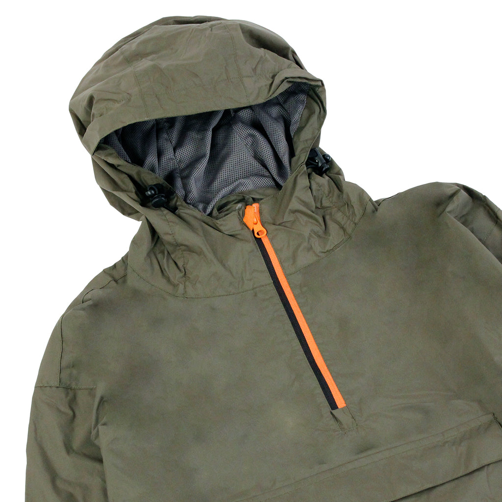 Dickies Saint Cloud Jacket in Dark Olive - Detail