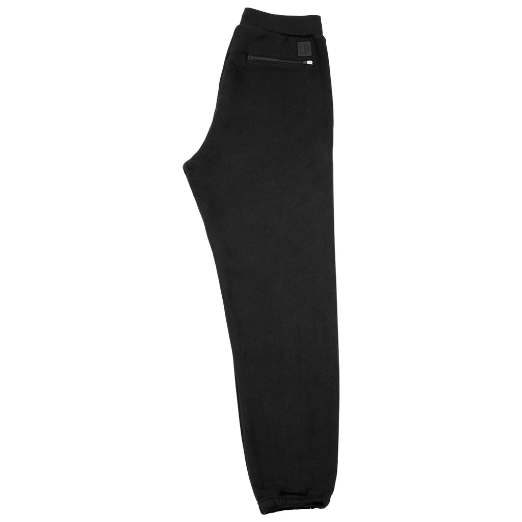 Polar Skate Co Sweatpants in Black - Leg