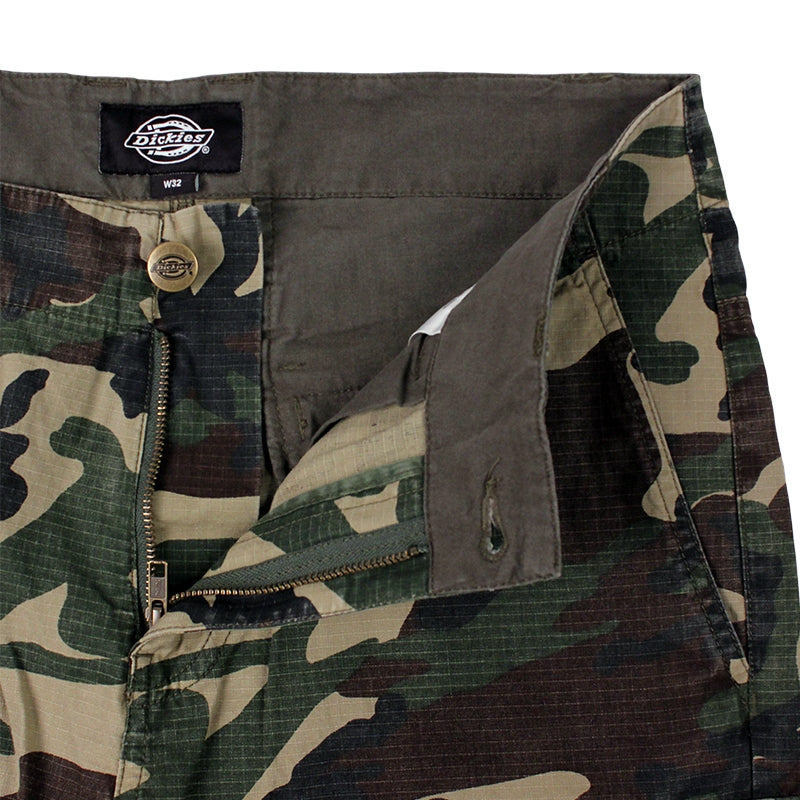 DICKIES NEW YORK SHORT CAMO - Zipper